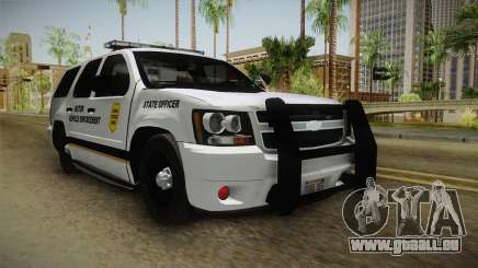 Chevrolet Tahoe 2015 Iowa State MVE pour GTA San Andreas