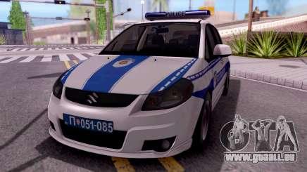 Suzuki SX4 Policija pour GTA San Andreas