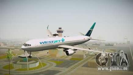 Boeing 767-338ER WestJet Airlines für GTA San Andreas
