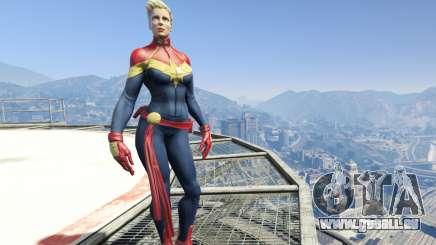 Captain Marvel (ANAD) pour GTA 5