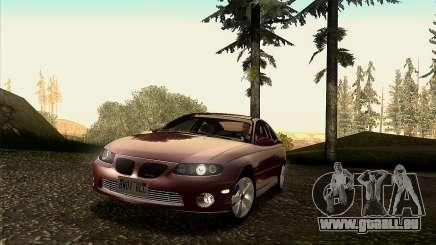 2005 Pontiac GTO IVF v 1.1 [Tunable] für GTA San Andreas