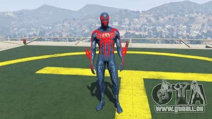 Spiderman 2099 pour GTA 5