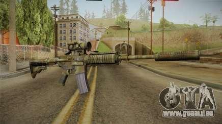 M4A1 CCO SD für GTA San Andreas