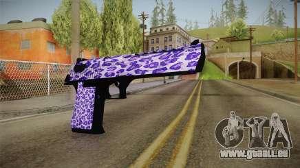 Tiger Violet Desert Eagle für GTA San Andreas