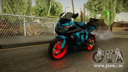 Kawasaki Ninja 250 FI Smoke Tech für GTA San Andreas