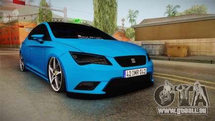 Seat Leon FR Blue pour GTA San Andreas
