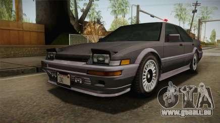 GTA 4 Dinka Hakumai Tuned Bumpers pour GTA San Andreas