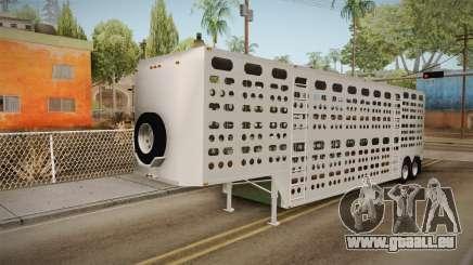 Double Trailer Livestock v3 pour GTA San Andreas