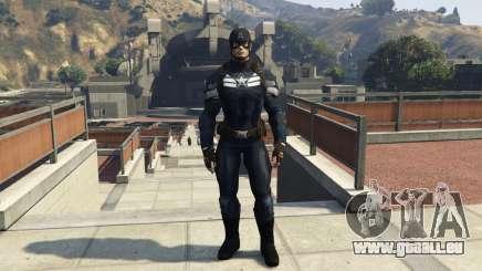 Captain America The Winter Soldier pour GTA 5