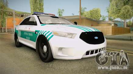Ford Taurus Turkish Highway Patrol pour GTA San Andreas