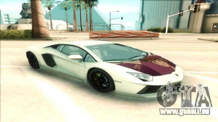 Lamborgini Aventador pour GTA San Andreas