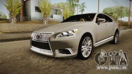 Lexus LS 460 Interior pour GTA San Andreas