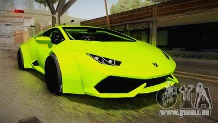 Lamborghini Huracan Rocket Bunny 2014 pour GTA San Andreas