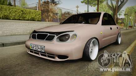 Daewoo Lanos Sedan 2001 pour GTA San Andreas