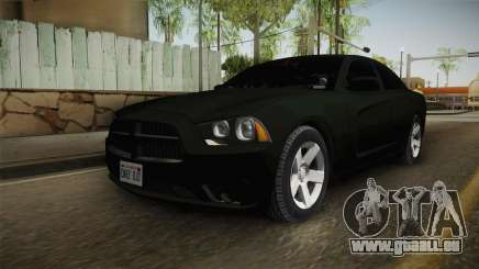 Dodge Charger 2013 Unmarked Iowa State Patrol pour GTA San Andreas