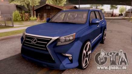Lexus GX460 pour GTA San Andreas