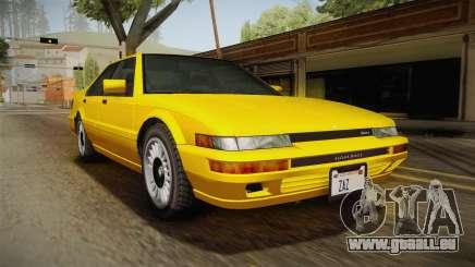 GTA 4 Dinka Hakumai SA Style pour GTA San Andreas