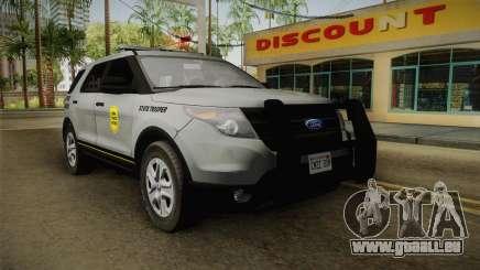 Ford Explorer 2014 Iowa State Patrol pour GTA San Andreas