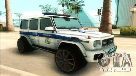 Mercedes-Benz G65 Police pour GTA San Andreas