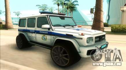 Mercedes-Benz G65 Police für GTA San Andreas