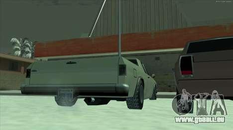 Pneus neige machines pour GTA San Andreas deuxième écran