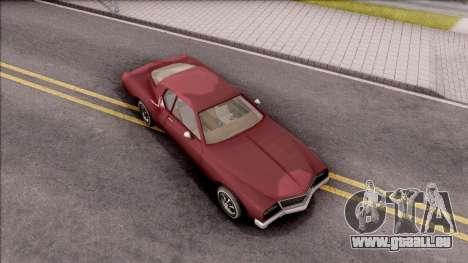 Driver PL Cerva V.2 pour GTA San Andreas vue de droite
