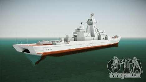 Kirov Class Battlecruiser für GTA San Andreas linke Ansicht