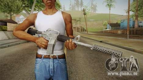 CS:GO - M4A1-S Basilisk pour GTA San Andreas troisième écran
