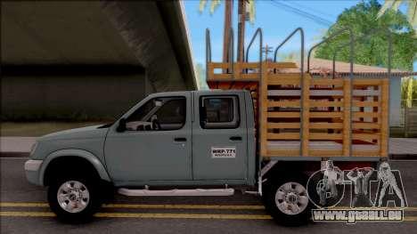 Nissan Frontier pour GTA San Andreas laissé vue
