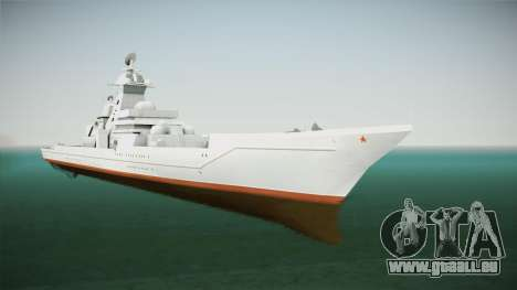 Kirov Class Battlecruiser für GTA San Andreas