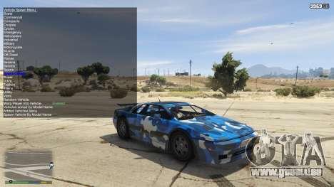 GTA 5 Simple Trainer 5.4 troisième capture d'écran