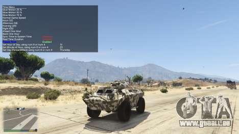 GTA 5 Simple Trainer 5.4 deuxième capture d'écran