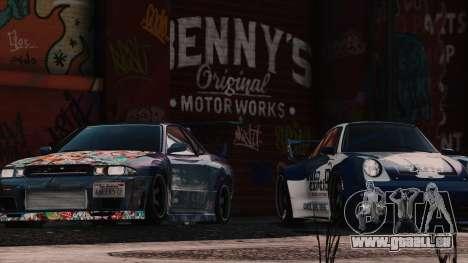 GTA 5 New Bennys Original Motor Works in SP 1.5.4 cinquième capture d'écran