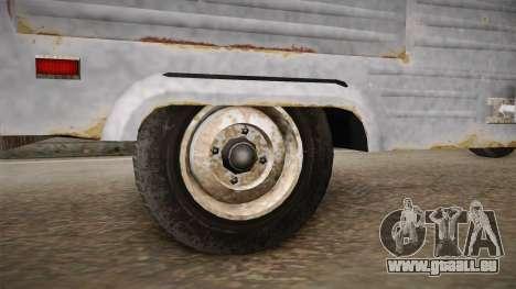 GTA 5 Zirconium Journey Worn IVF für GTA San Andreas Rückansicht