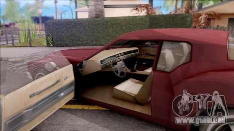 Driver PL Cerva V.2 pour GTA San Andreas vue intérieure