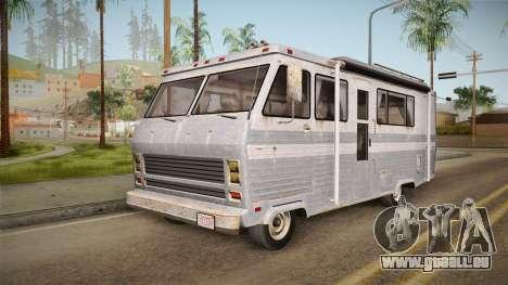 GTA 5 Zirconium Journey Worn IVF pour GTA San Andreas sur la vue arrière gauche