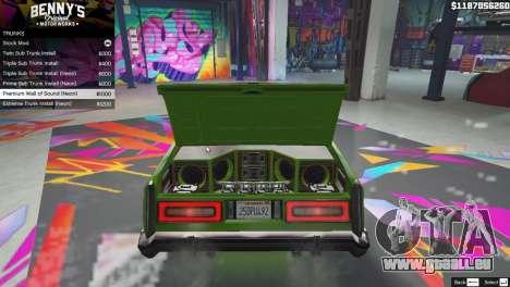 GTA 5 New Bennys Original Motor Works in SP 1.5.4 quatrième capture d'écran