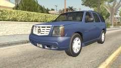 Cadillac Escalade 2002-2006 v2 pour GTA San Andreas