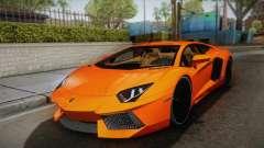 Lamborghini Aventador LP700-4 Stock für GTA San Andreas