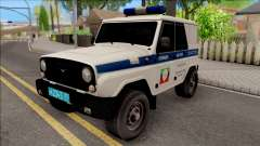 UAZ Hunter Polizei