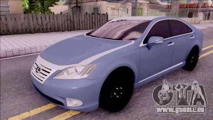 Lexus ES 350 2010 pour GTA San Andreas