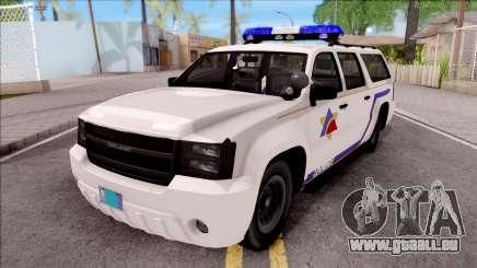 Declasse Granger Hometown PD 2012 pour GTA San Andreas