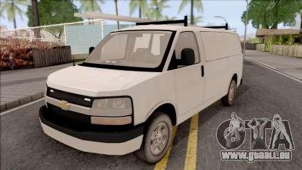 Chevrolet Express Undercover Surveillance Van für GTA San Andreas