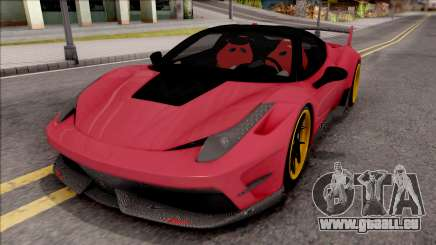Ferrari 458 Italia Misha Design für GTA San Andreas
