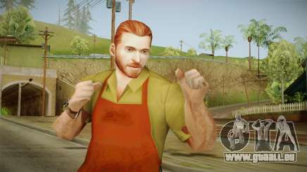 Tobias Mason from Bully Scholarship pour GTA San Andreas