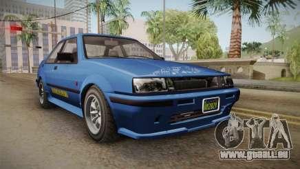 GTA 5 Karin Futo 4-doors IVF für GTA San Andreas