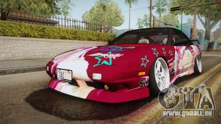 Nissan 240SX Ousawa Miu Itasha für GTA San Andreas