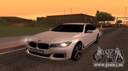 BMW 750i Armenian pour GTA San Andreas