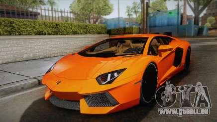 Lamborghini Aventador LP700-4 Stock pour GTA San Andreas