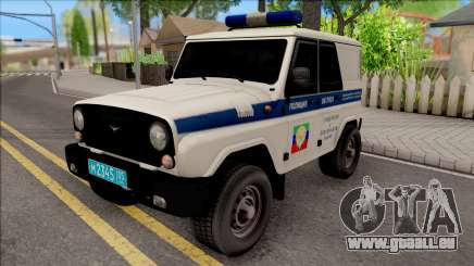 UAZ Hunter Police pour GTA San Andreas